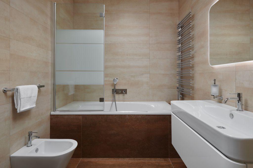 Praktická mini koupelna