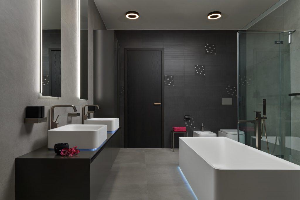 Éterická koupelna vnadčasovém designu