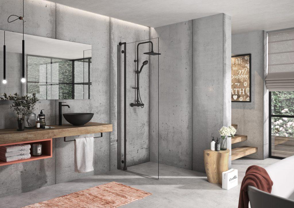 Minimalistická koupelna II.