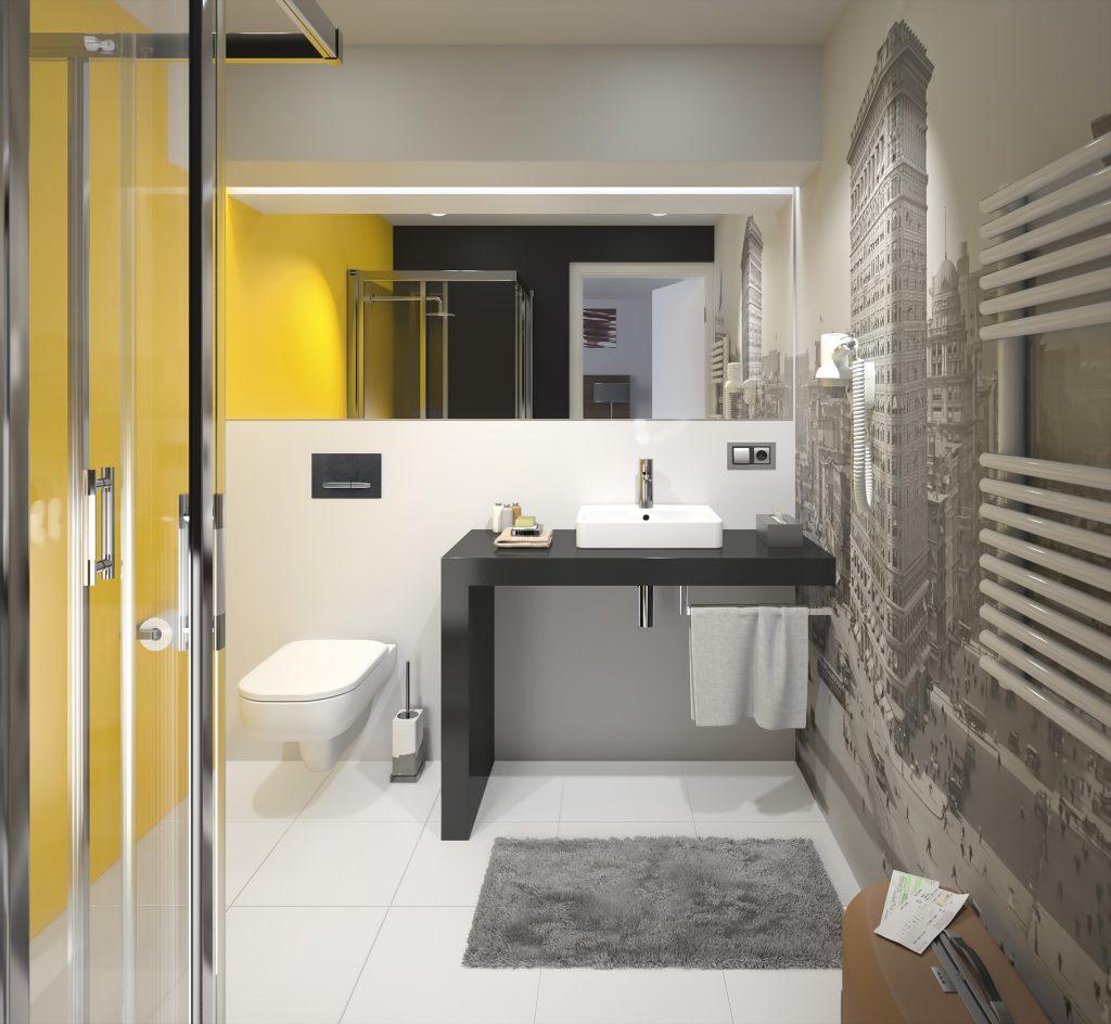 Elegantní městská koupelna