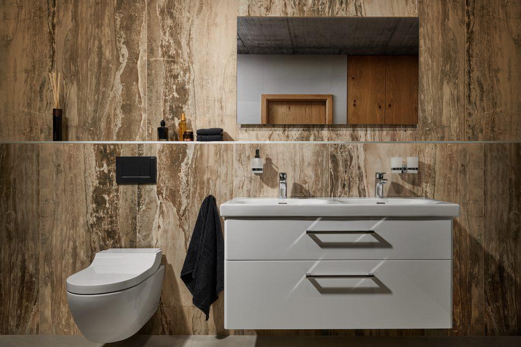 Kouzelná koupelna v mramoru