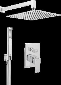 Sprchové sety a hlavice podomítkové