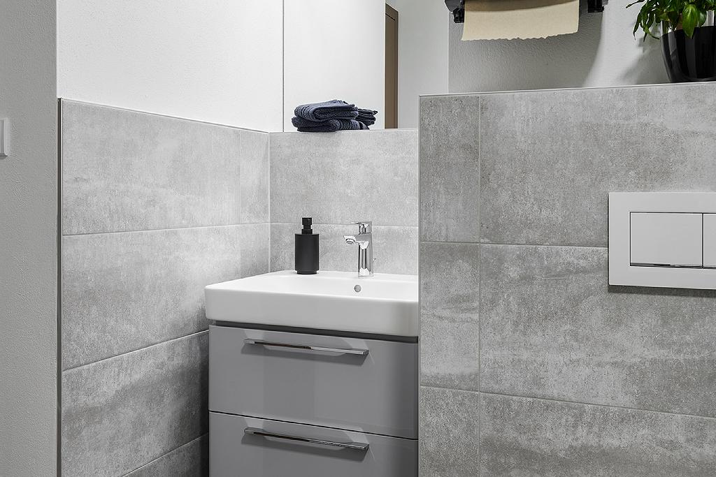 Koupelna v pánském stylu